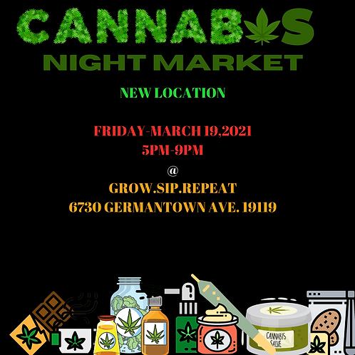 Cannabis Night Market (March 19)