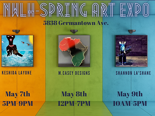 NWLH: Spring Art Expo Ticket