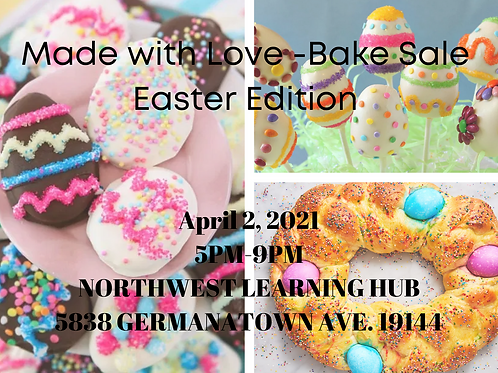 Made With Love (Bake Sale)-Easter Edition