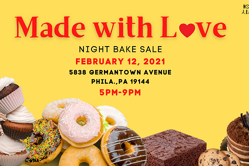 Made With Love (Bake Sale)