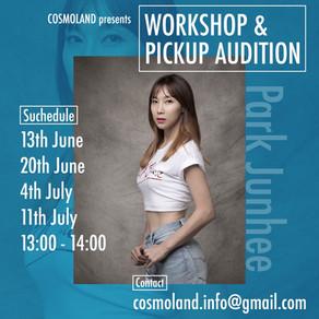 パク・ジュニ Workshop & Pick Up Audition開催決定