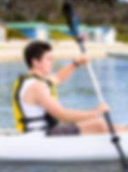Kayaking Port Phillip Bay, Rosebud, Mornington Peninsula