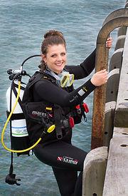 SCUBA Diver Portsea Pier