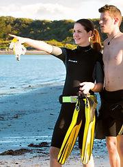 Snorkeling Flinders Pier Beach