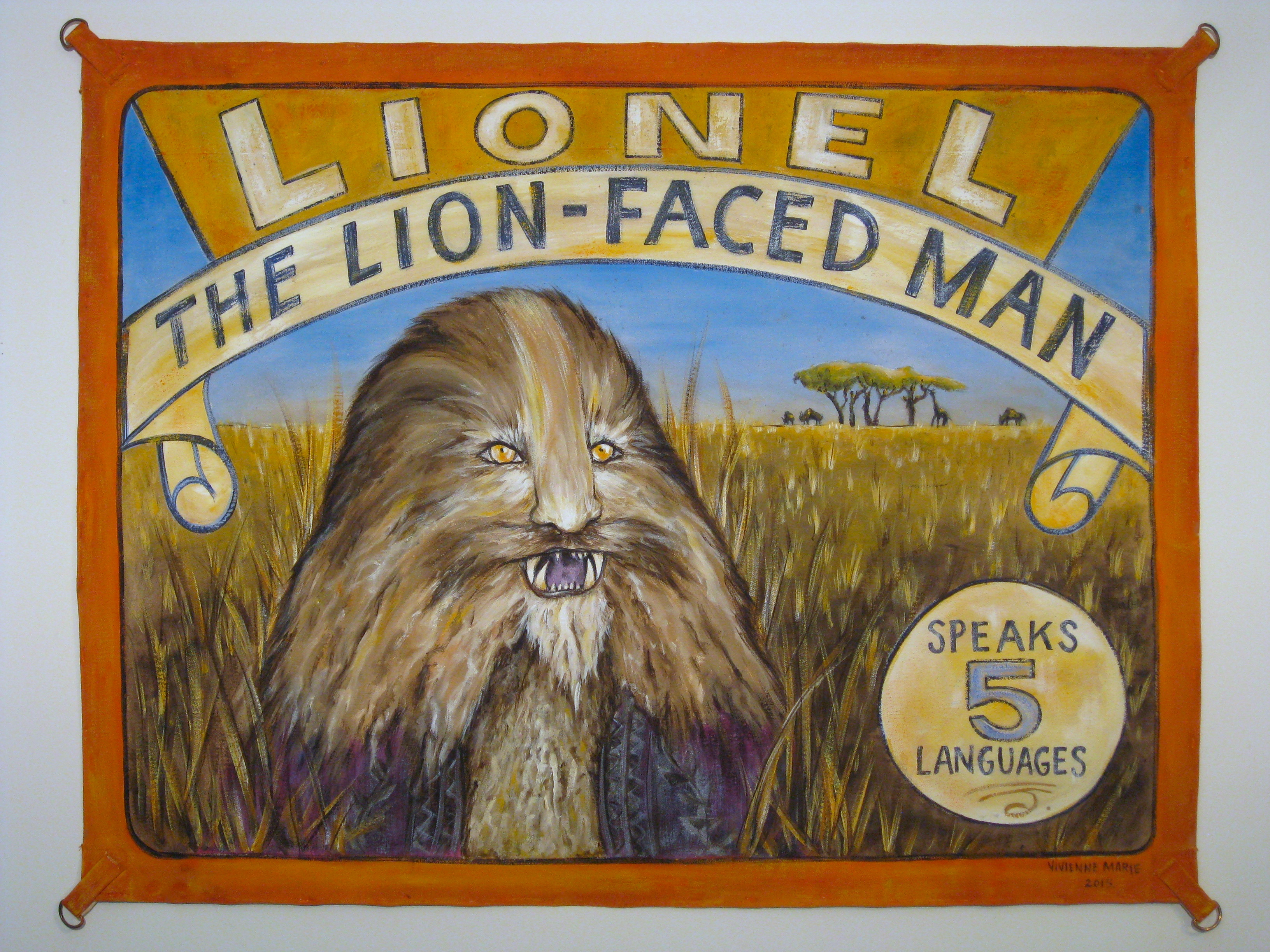LIONEL: THE LION-FACED MAN