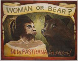WOMAN OR BEAR?