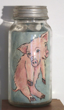 TWO FACED PIGLET: NOT ALIVE