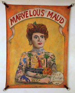 MARVELOUS MAUD: ONLY LADY TATTOOIST