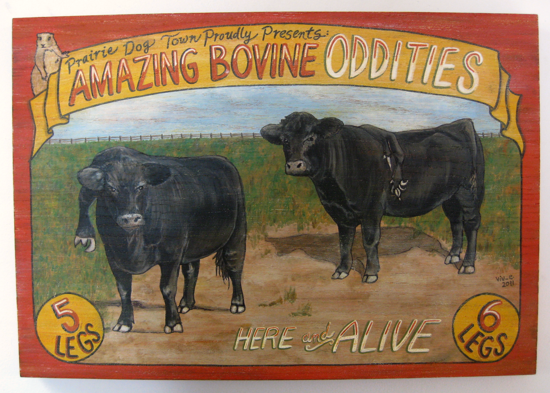 AMAZING BOVINE ODDITIES