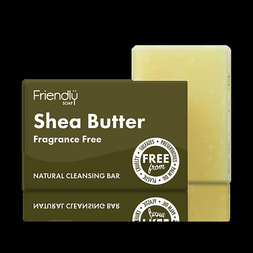 Facial Cleansing Bar Shea Butter  95g- Friendly