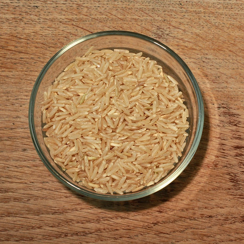 Brown Long Grain Rice - org (per 500g)