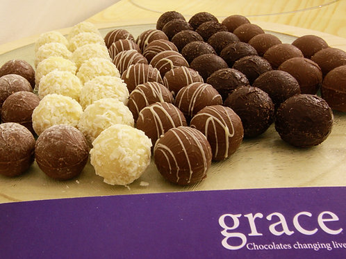 Chocolate Truffles - Grace Chocolates