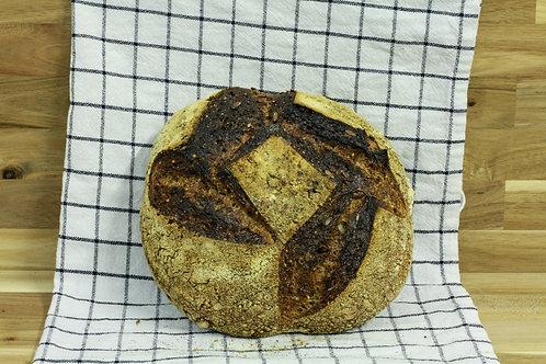 Seeded Wholemeal Sourdough - Sweet Jane Bakehouse