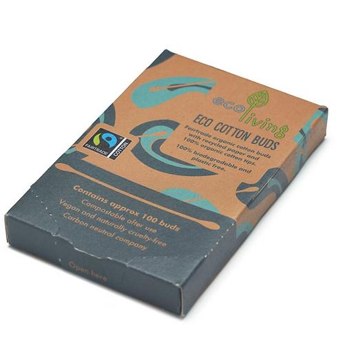 Ecoliving - Organic Fairtrade Cotton Buds
