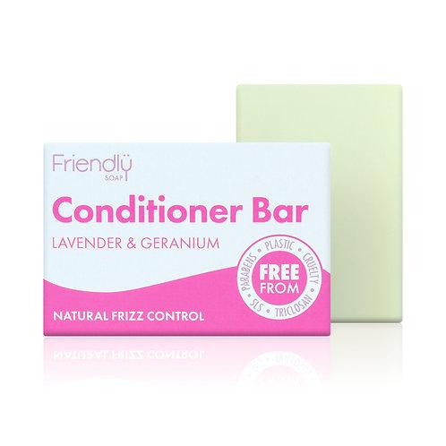 Conditioner Bar Lavender and Geranium 95g - Friendly