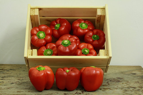 Peppers - org (£6.00/kg)