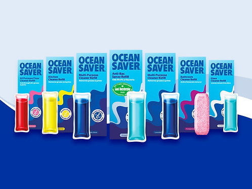 Ocean Saver -Bathroom cleaner and descaled