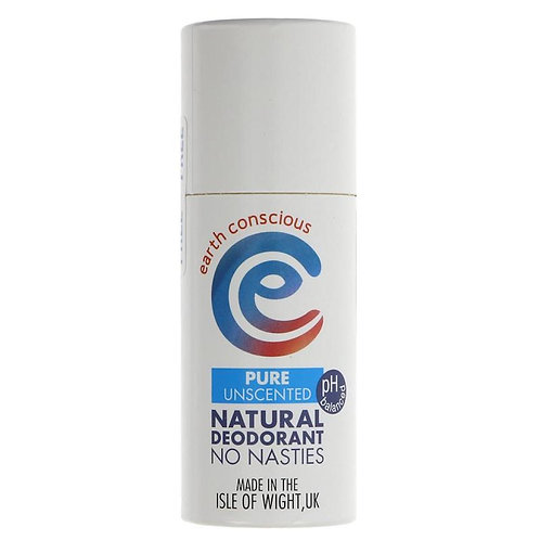 Earth Conscious Natural Deodorant - Pure