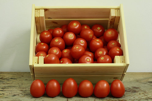 Roma Tomatoes - org (£3.10/kg)