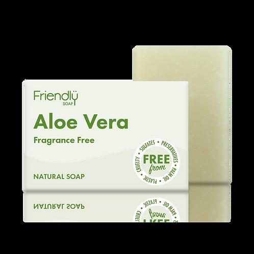 Aloe Vera Soap Bar, Fragrance-free - Friendly