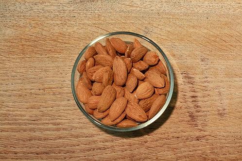 Almonds - org, whole (per 250g)