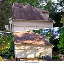 Woodstock, GA - Eco-Friendly (Bleach-Free) Roof Cleaning