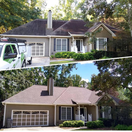 Powder Springs, GA - Eco-Friendly (Bleach-Free) Roof Cleaning