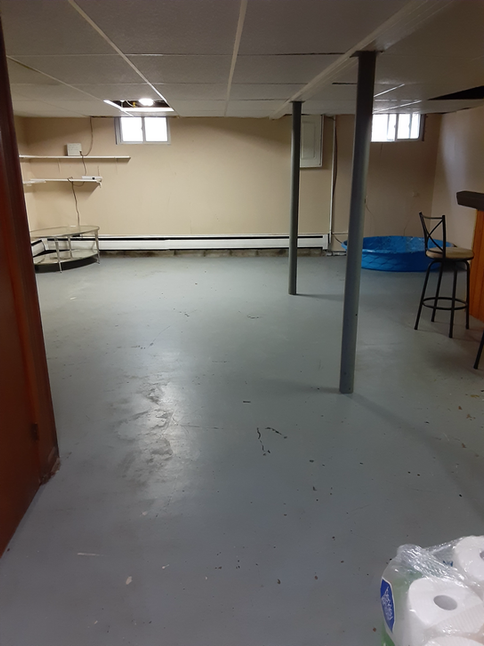 Finished Basement For Training During Inclement Weather