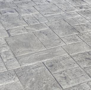Residential concrete stamped patio   CR-Menn Concrete   Fremont, Nebraska