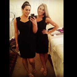 Laura and Nicola