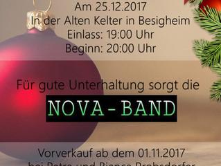 Die Siebenbürgischen Jugendtanzgruppe Heilbronn lädt ein zum Weihnachtsball