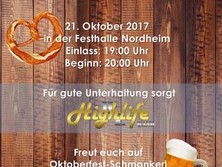 Oktoberfest und Dirndlball der JTG Heilbronn