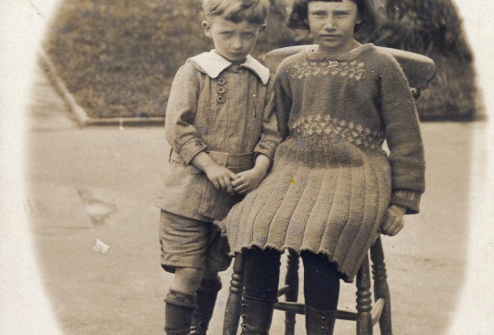 Charles Alfred John Gubbins and sister Elizabeth Frances Abbott Gubbins