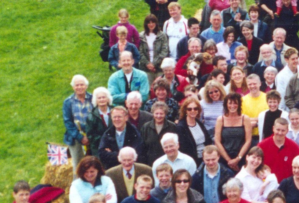 Village Photo, Golden Jubilee, 2002 - left side