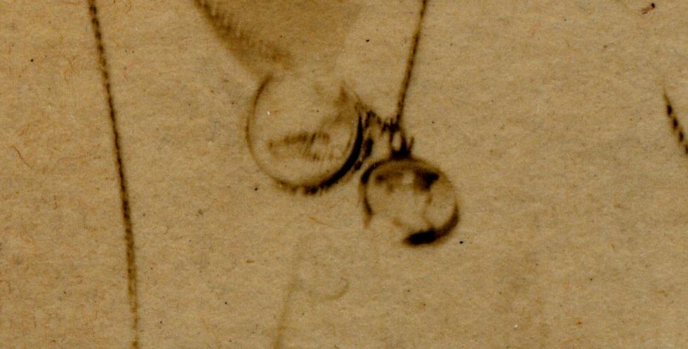 Close up of locket in KL280