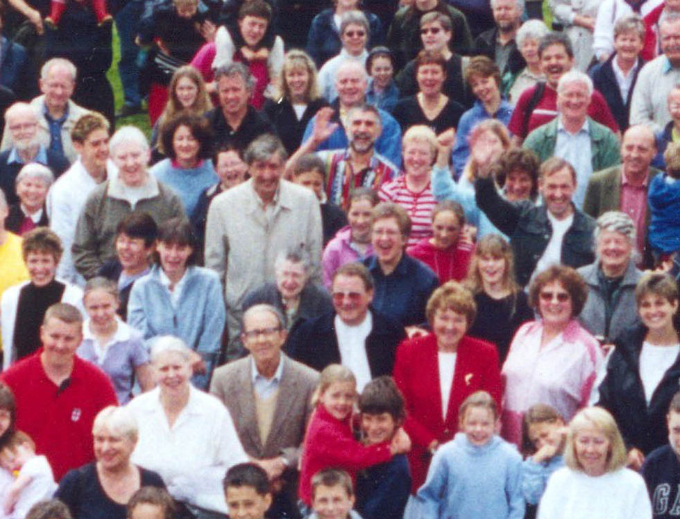 Village Photo, Golden Jubilee, 2002 - centre