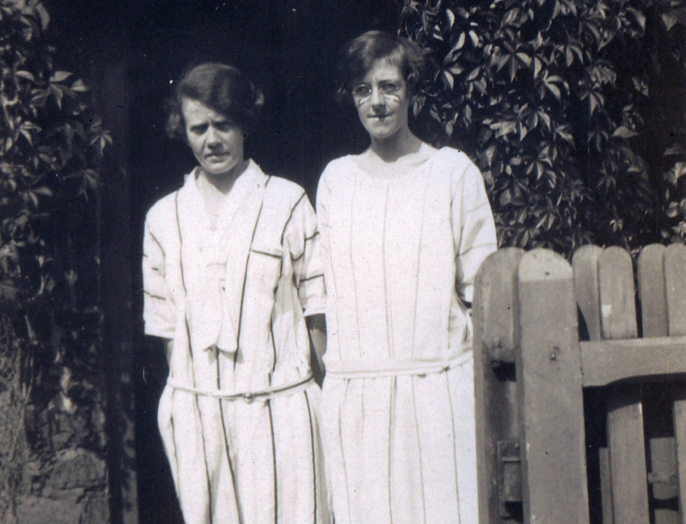Eliza and Phoebe Gubbins