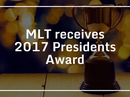 MLT receives 2017 Presidents Award
