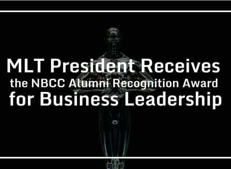 MLT President Receives the NBCC Alumni Recognition Award for Business Leadership