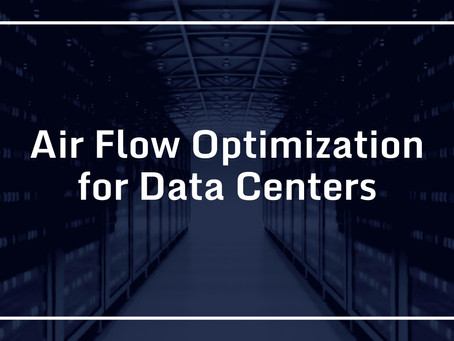 Air Flow Optimization for Data Centers