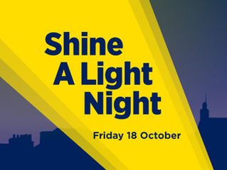 Can you help me support Focus Ireland's Shine a Light 2019 campaign?