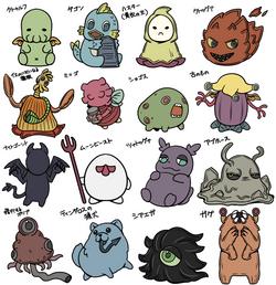・ゆるるふ神話キャラクター01