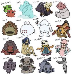 ・ゆるるふ神話キャラクター02