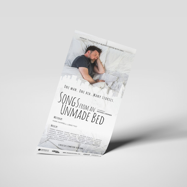 Unmade Bed Flyer