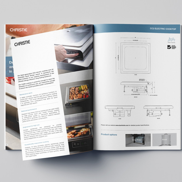 Christie A4 36 Page Brochure