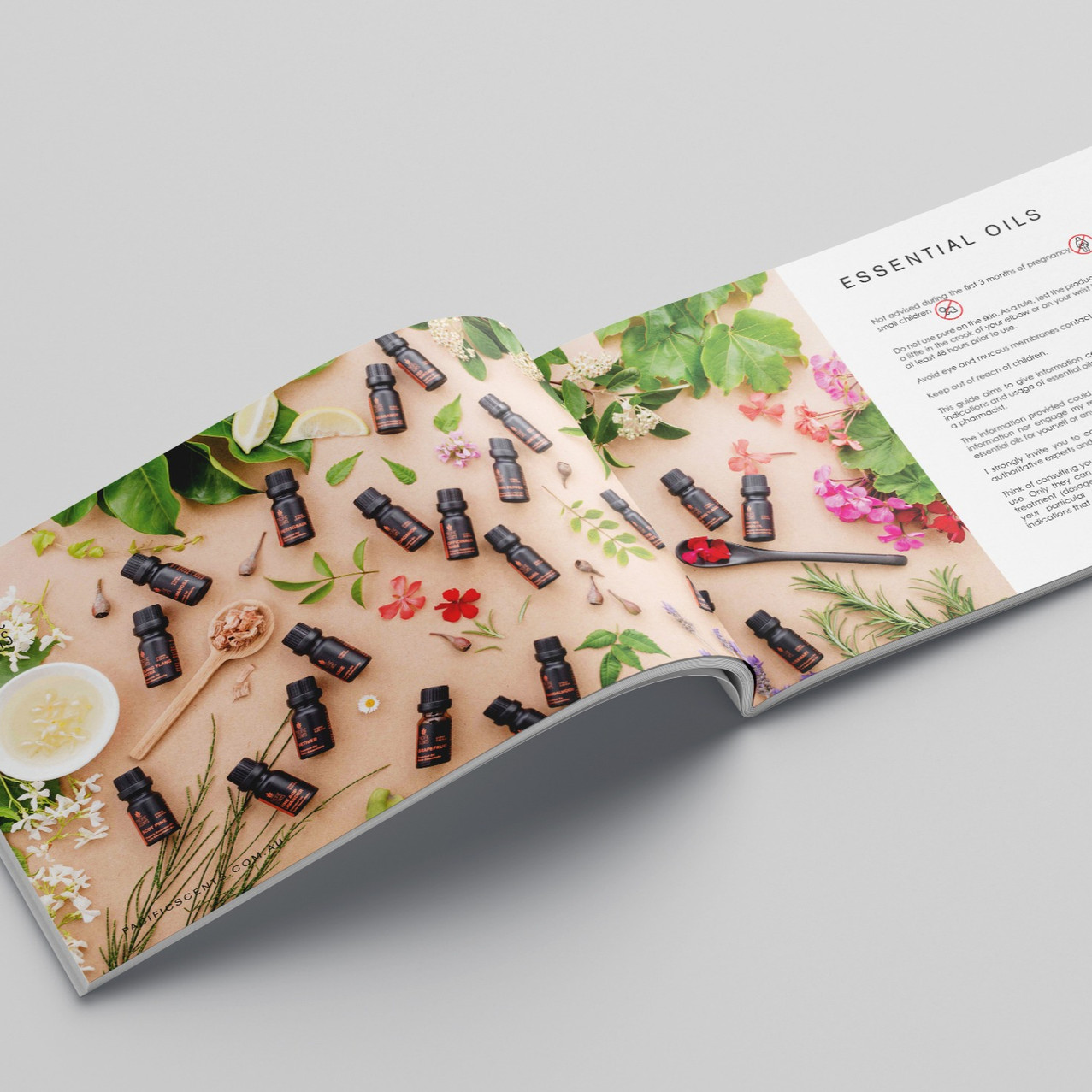 Pacific Scents Essential Oils 24pp Brochure