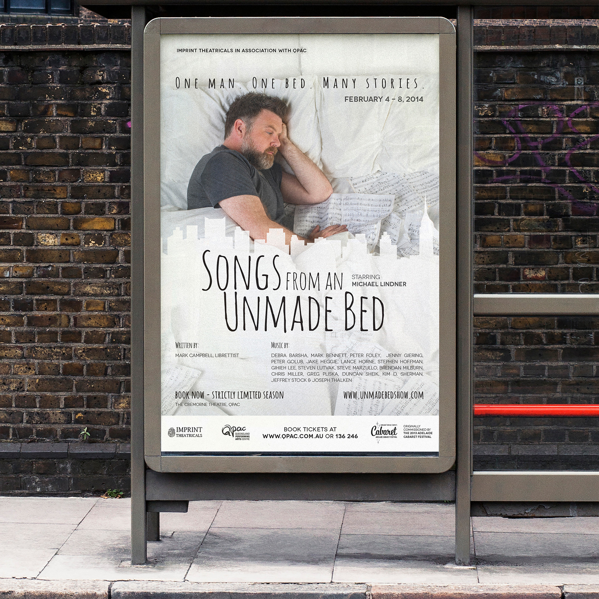 Unmade Bed Poster