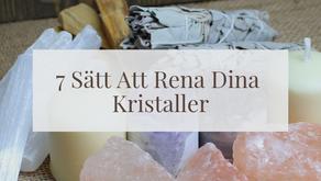 7 Sätt Att Rena Dina Kristaller