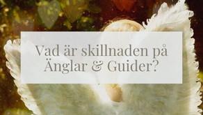 Vad är skillnaden på Änglar & Guider?