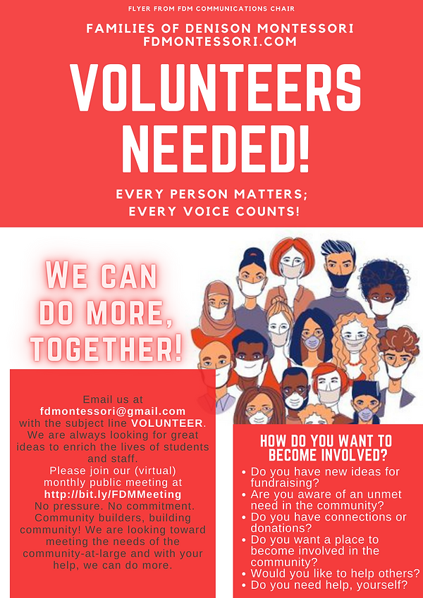 FDM volunteers needed general flyer.png